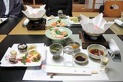 Upper class Japanese cuisine