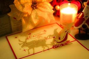 クリスマスの絵