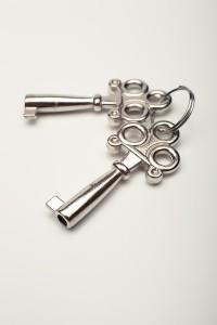 キーホルダーについた鍵